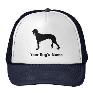 Personalized Saluki (or Gazelle Hound) サルーキ Trucker Hat
