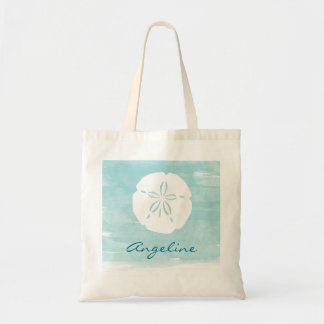 Personalized Sand Dollar Bridesmaid Tote
