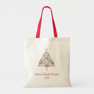 Personalized Sand Dollar Christmas Tree Bag