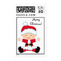 Personalized Santa Baby Postage Stamp