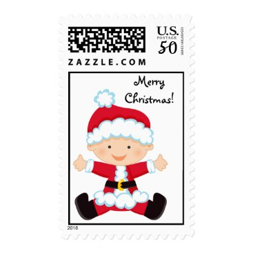 Toddler & Baby themed Personalized Santa Baby Postage Stamp