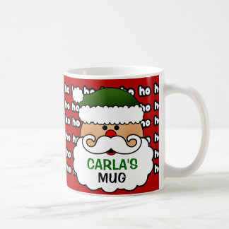 Personalized Santa Claus Mug