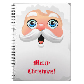 Personalized Santa Claus Notebook