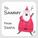 "Personalized Santa Gift Tags<br><div class=""desc"">Help disguise your handwriting by using these personalized"