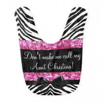 Personalized Sassy Baby from Aunt Personalized Bib