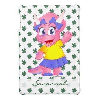 Personalized Savannah Dino iPad Mini Case
