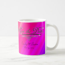 Personalized save the date mug