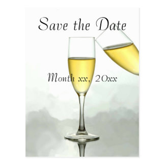 Personalized Save the Date Post Cards