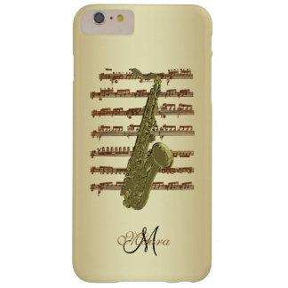 Personalized Saxophone Sheet Music iPhone Case
