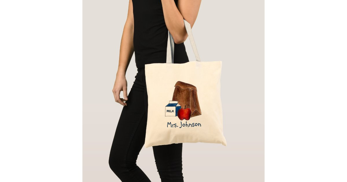 Awesome French Teacher Natural Cotton Shoulder Bag School Gift