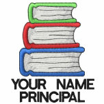 Personalized School Principal Shirt Embroidered Polo Shirt