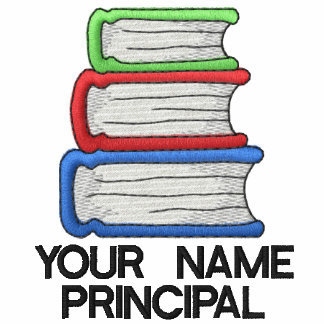 Personalized School Principal Shirt Embroidered Shirts