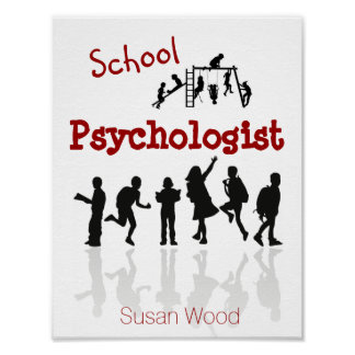 Personalized School Psychologist Poster