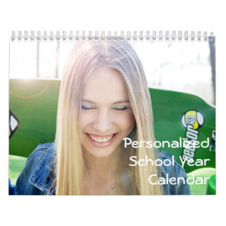 Personalized School Year Calendars