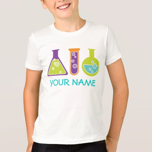 Personalized scientist cute kids lab tee shirt zazzle for Design lab create your own shirt