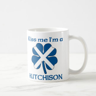Personalized Scottish Kiss Me I'm Hutchison Coffee Mug