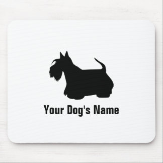 Personalized Scottish Terrier スコティッシュ・テリア Mouse Pad