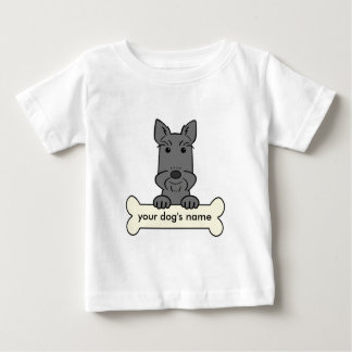 Personalized Scottish Terrier Baby T-Shirt