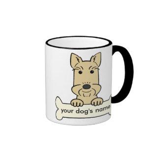 Personalized Scottish Terrier Ringer Mug