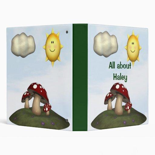 Personalized Scrapbook Photo holder Memory book 3 Ring Binder