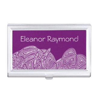 Personalized Scribbleprint Case For Business Cards
