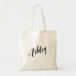 Personalized Script Tote Bag- Ashley