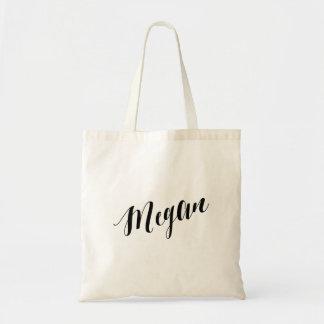 Personalized Script Tote Bag- Megan