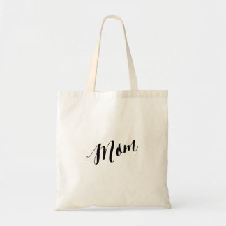 Personalized Script Tote Bag- Mom