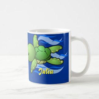 Personalized Sea Turtle Coffee Mug