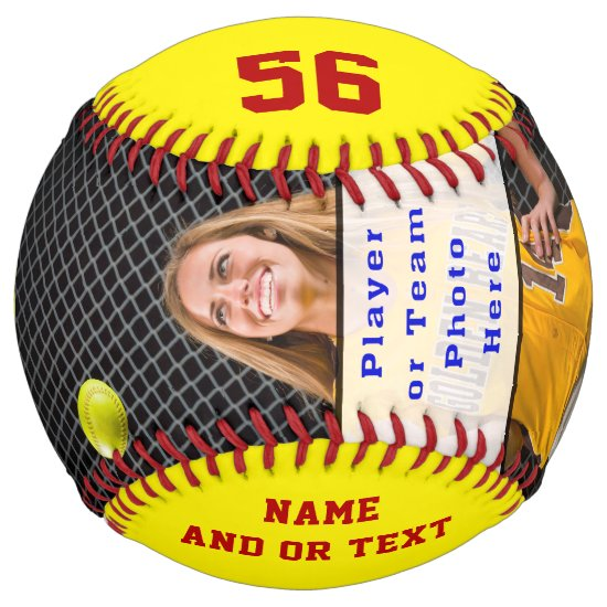 Personalized Senior Gifts for Softball Players