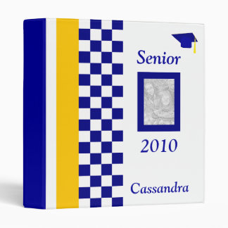 Personalized Senior Year Photo Album 3 Ring Binder
