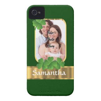 Personalized shamrock iPhone 4 case