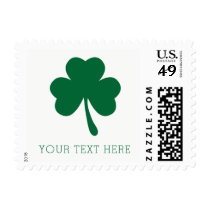 Personalized Shamrock St. Patrick's Day Stamps
