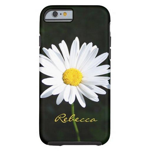 Personalized Shasta Daisy iPhone 6 case Vibe Case