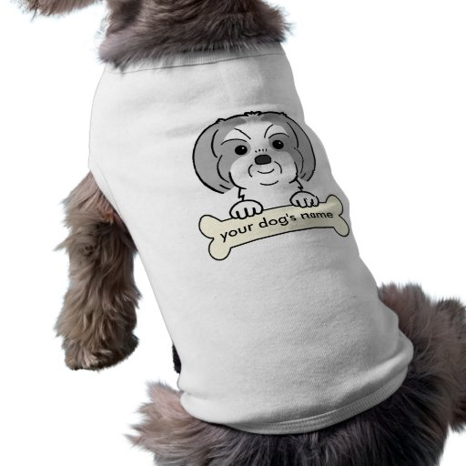 Personalized Shih Tzu Dog Clothes