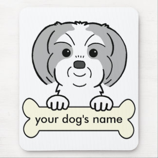 Personalized Shih Tzu Mouse Pad