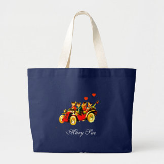 PERSONALIZED SHOPPING JUMBO TOTE BAG GIFT
