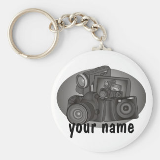 Personalized Shutter Bug Keychain