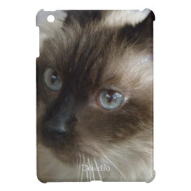 Personalized:Siamese Kitty iPad Mini Case
