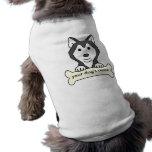 Personalized Siberian Husky Doggie Shirt