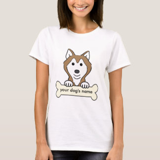Personalized Siberian Husky T-Shirt