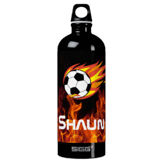 Personalized SIGG Traveller/Soccer Ball Aluminum Water Bottle