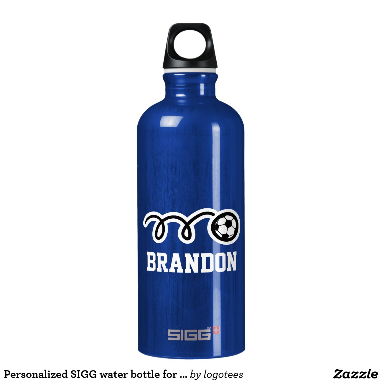 personalized sigg water bottle for soccer player sigg