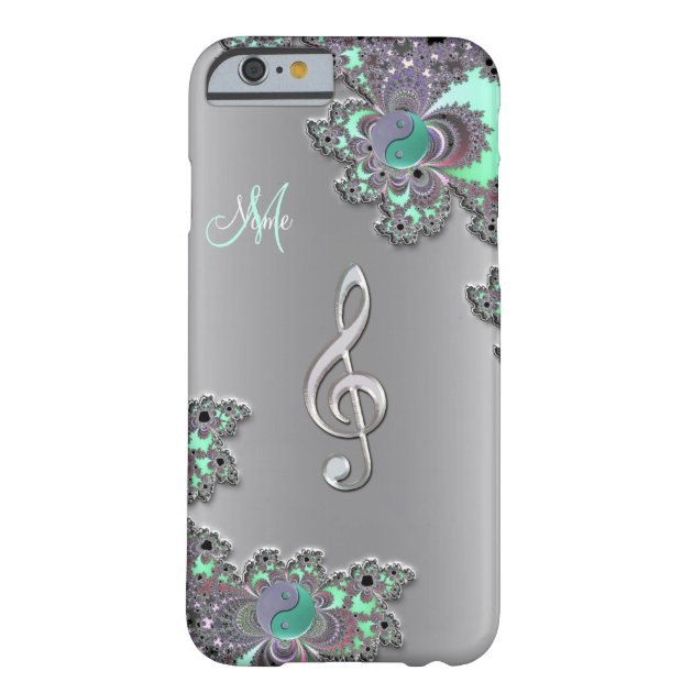 best video app for iphone personalized silver clef fractal iphone zazzle 16707