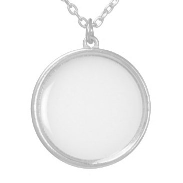 Beach Themed Personalized Silver Plated Necklace