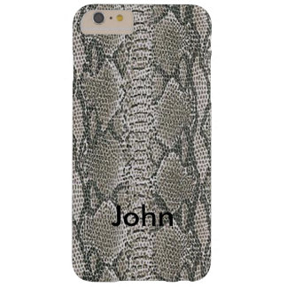Personalized Silver Snake Skin iPhone 6 Case