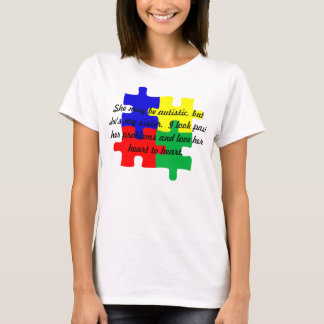 "Personalized ""Sister"" Autism T-Shirt Women's"