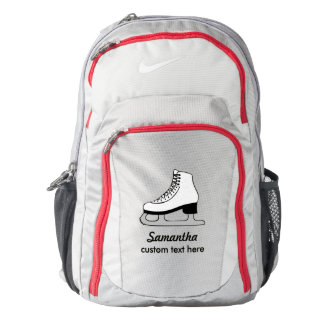 Personalized Skating Club, Skater Name Custom Backpack