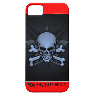 Personalized ! sKuLL cRoSsBoNz IPHONE CASEART iPhone SE/5/5s Case
