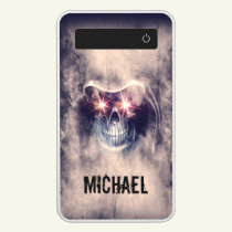 Personalized Skull Power Bank